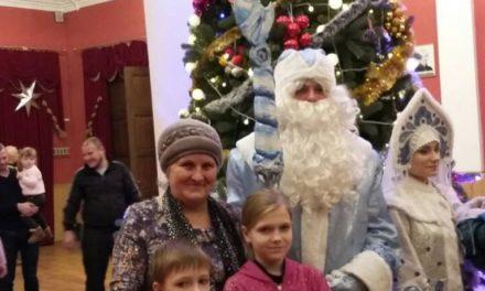 Отчёт о проведении праздничного Рождественского мероприятия 18.12.2017 Гомельский  государственный театр кукол.